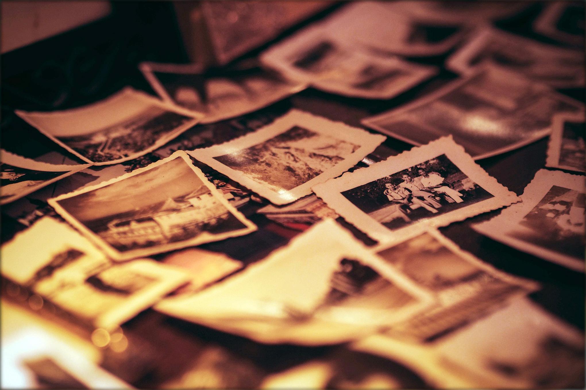 renowacja stare zdjęcia pożółkłe odnawianie zdjęć w Pile