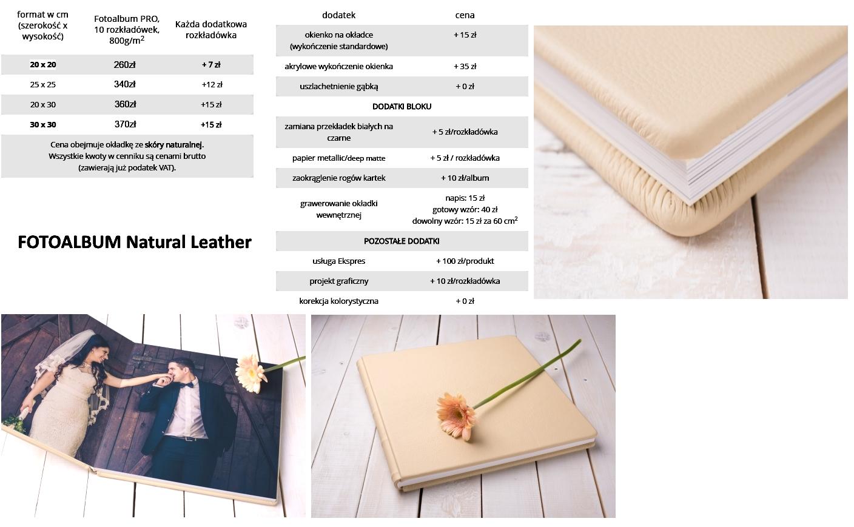 FOTOALBUM Natural Leather