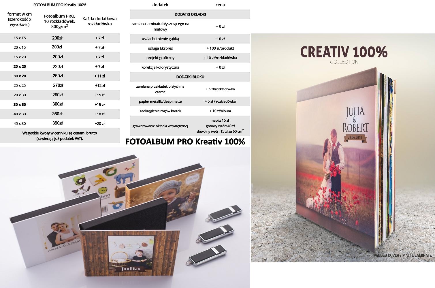 FOTOALBUM PRO Kreativ 100%