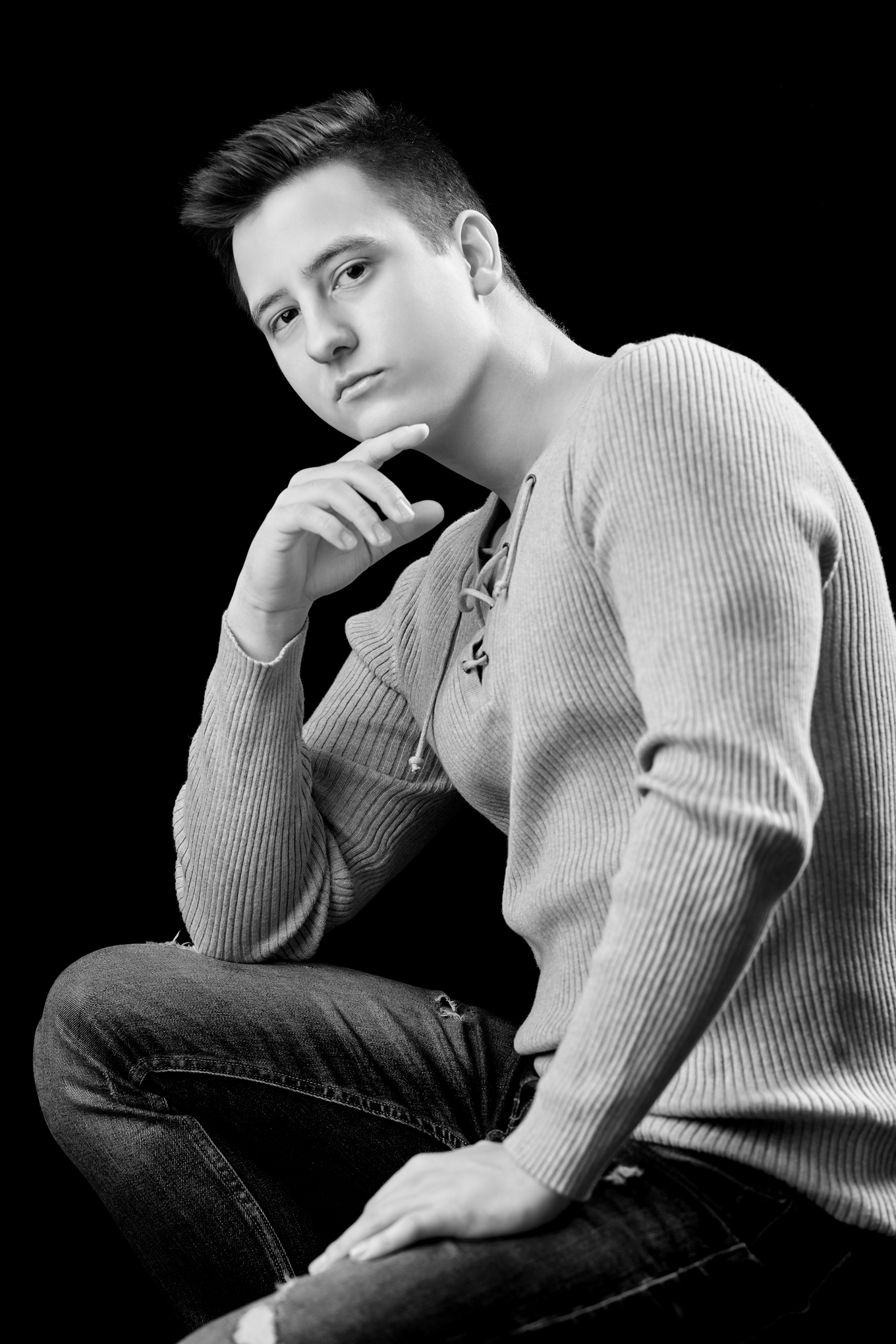 sesja portretowa Borys