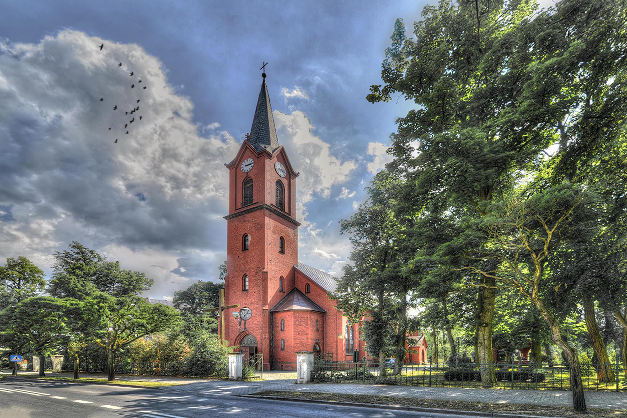 fotograf pila kościół