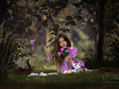 fotografia dziecięca bajkowa