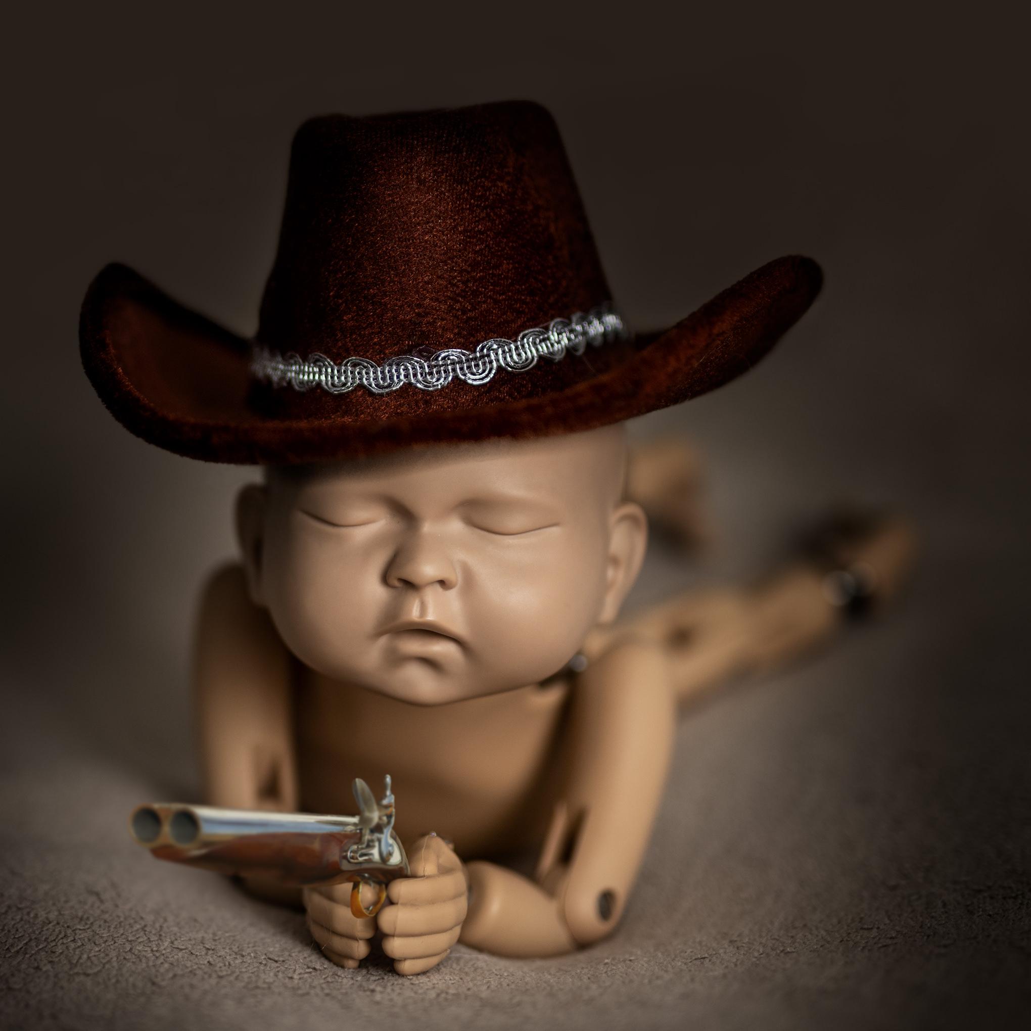 Newborn Noworodkowa sesja niemowlęca w Pile
