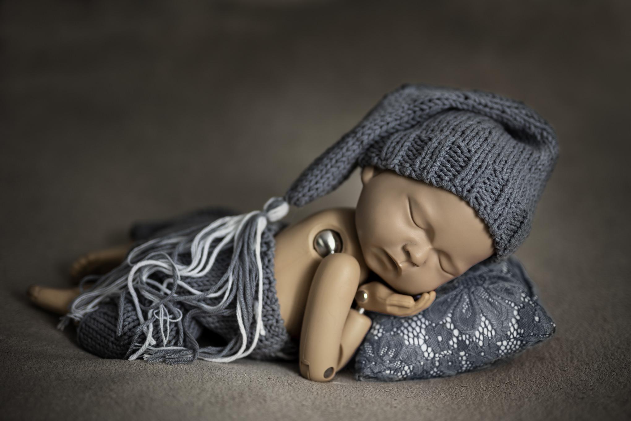 Noworodkowa sesja niemowlęca w Pile