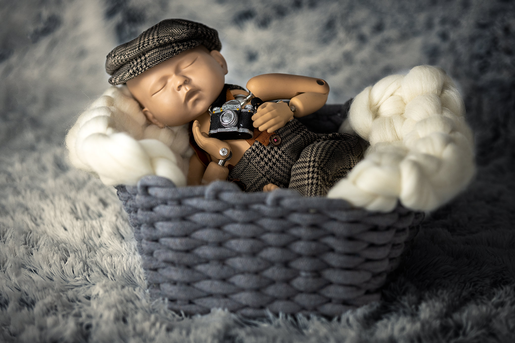 sesja zdjęcia noworodek Pila