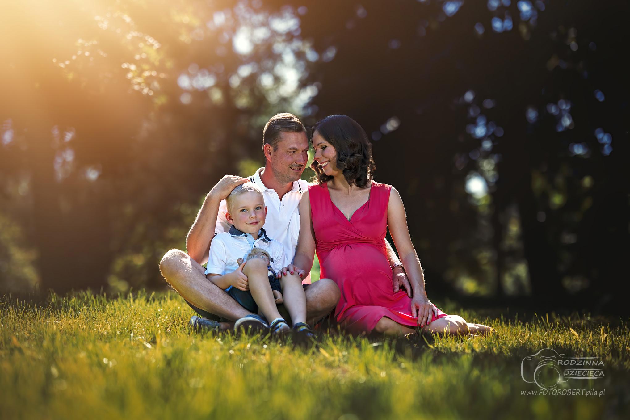 Sesja rodzinna w Pile Fotorobert